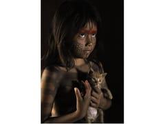 Stampa fotograficaRITRATTO DI UN GIOVANE KAYAPO - ARTPHOTOLIMITED