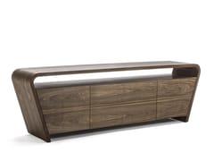 Madia in legno massello con ante a battente con cassettiRIVAR - RIVA 1920