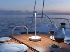 Lampada da tavolo a LED in alluminio senza filiRIVETTO - SECORA S.A.S. DI ROSSI ALBERTO & C.