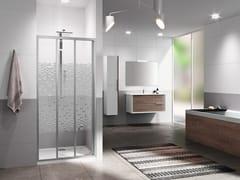 Box doccia a nicchia con porta scorrevole RIVIERA 2.0 3P - Riviera 2.0