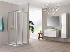 Box doccia angolare con porta scorrevole RIVIERA 2.0 A - Riviera 2.0