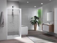 Box doccia angolare con porta pivotante RIVIERA 2.0 G+F - Riviera 2.0