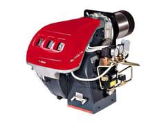 Bruciatore di gasolio bistadio progressivo o modulante RL 28-190/M - Bruciatori