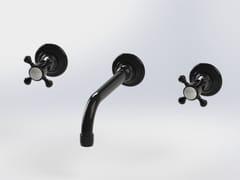 Rubinetto per lavabo a 3 fori a muroRL1012 | Rubinetto per lavabo - BLEU PROVENCE