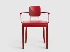 Sedia in alluminio con braccioliROCK | Sedia con braccioli - DA A