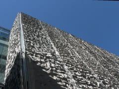 GATTI PRECORVI, ROCK Pannello in acciaio inox per rivestimento di facciate