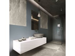 Pavimento/rivestimento in gres porcellanato effetto pietraROCK SALT | Celtic Grey - CERIM FLORIM SPA