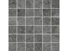 Mosaico in gres porcellanatoROCKING | Mosaico Anthracite - MARAZZI GROUP