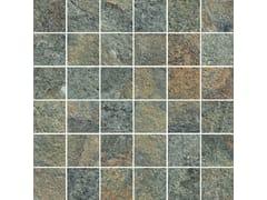 Mosaico in gres porcellanatoROCKING | Mosaico Grey - MARAZZI GROUP