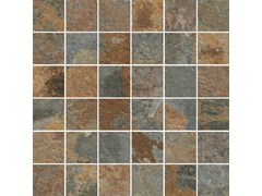 Mosaico in gres porcellanatoROCKING | Mosaico Multicolor - MARAZZI GROUP