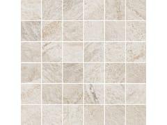 Mosaico in gres porcellanatoROCKING | Mosaico White - MARAZZI GROUP