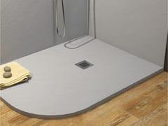 Piatto doccia angolare incassato in MarmoresinaROCKY CLASSIC | Piatto doccia angolare - RELAX DESIGN