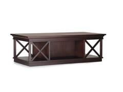 Tavolino rettangolare in legno RODRIGO | Tavolino rettangolare -