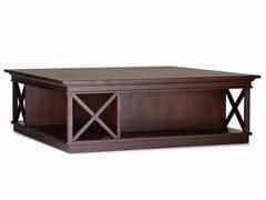 Tavolino quadrato in legno RODRIGO | Tavolino quadrato -