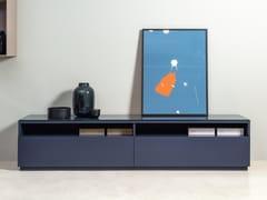 Mobile TV basso in legno con cassettiROLF BENZ 9200 STRETTO | Mobile TV - ROLF BENZ