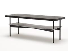 Tavolino rettangolare in legno da salotto ROLF BENZ 925 | Tavolino rettangolare -