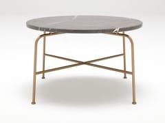 Tavolino rotondo in marmo da salotto ROLF BENZ 947 | Tavolino in marmo -