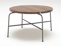 Tavolino rotondo in legno da salotto ROLF BENZ 947 | Tavolino in legno -