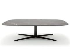Tavolino rettangolare in pietra ROLF BENZ 959 | Tavolino in pietra -