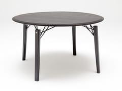 Tavolo da pranzo rotondo in legno ROLF BENZ 964 | Tavolo rotondo -