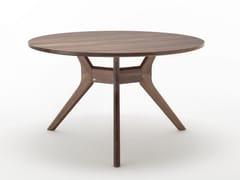 Tavolo da pranzo rotondo in legno ROLF BENZ 965 | Tavolo rotondo -