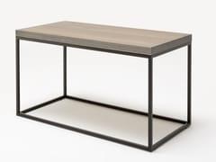 Tavolino alto rettangolare in legno ROLF BENZ 985   Tavolino alto -