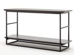 Tavolino alto rettangolare in legno ROLF BENZ 987 | Tavolino alto -