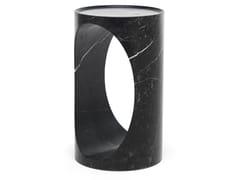 Tavolino alto rotondo in marmoROLL | Tavolino alto - EPÒNIMO