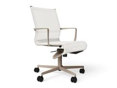 Sedia ufficio operativa ad altezza regolabile girevole con braccioli ROLLINGFRAME 52 - 472 - Frame 52 / Frame 52 Soft