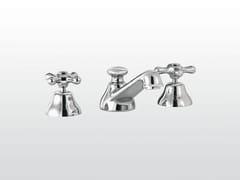 Rubinetto per lavabo a 3 fori ROMA | 3224P - Roma