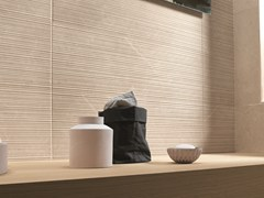 Piastrelle con superficie tridimensionale in ceramica a pasta bianca per interni ROMA | Rivestimento tridimensionale - Roma
