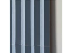 Rivestimento tridimensionale in gres porcellanato ROMBINI TRIANGLE BLU - Rombini
