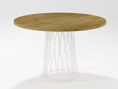 Tavolo da pranzo rotondo in legnoRONCISVALLE | Tavolo in legno - BAREL