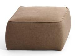 Pouf quadrato in tessutoRONDÒ | Pouf quadrato - BLACK TIE