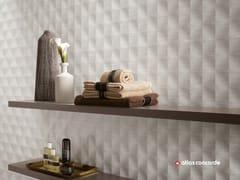 Rivestimento tridimensionale in ceramica a pasta bianca ROOM WALL | Rivestimento tridimensionale in ceramica a pasta bianca - Room