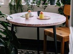 Tavolo rotondo in terrazzo venezianoROSA | Tavolo rotondo - FOR ME LAB