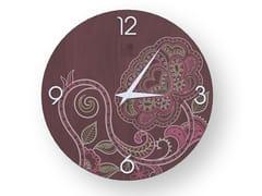 Orologio da parete in legno stuccato ROSE COLORS | Orologio - DOLCEVITA MARRAKECH