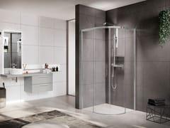 Box doccia con porta scorrevoleROSE ROSSE   R - NOVELLINI