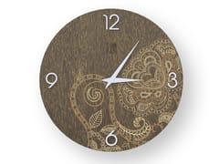 Orologio da parete in legno stuccato ROSE WARM | Orologio - DOLCEVITA MARRAKECH