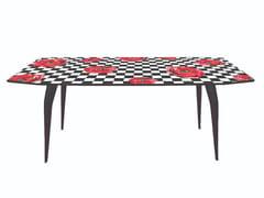 Tavolo da pranzo rettangolareROSES ON CHECK - SELETTI