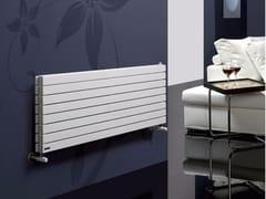 Radiatore orizzontale a parete ad acqua calda ROSY TANDEM OR - Monocolonna