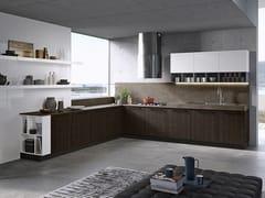 Cucina componibile lineareROUND | Cucina lineare - ARREDO 3