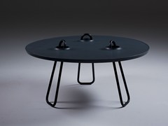 Tavolino da caffè rotondoKAHAWA | Tavolino rotondo - ARTISAN