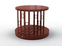Tavolino rotondo in multistratoSTAN | Tavolino rotondo - BRUNO ZAMPA