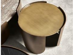 Tavolino rotondo in metalloATENAE | Tavolino rotondo - CANTORI