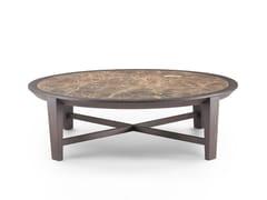 Tavolino rotondo in marmo ELLIOT   Tavolino rotondo - Elliot