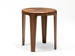 Tavolino rotondo in legno ROUND | Tavolino alto -