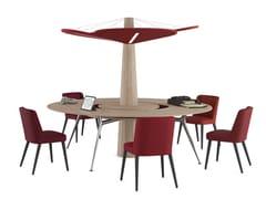 Tavolo da riunione rotondo BAOBAB | Tavolo da riunione rotondo - Baobab