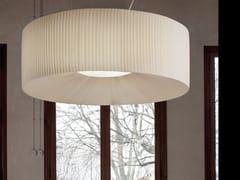 Lampada a sospensione a luce diretta in tessuto ROUND | Lampada a sospensione - Tessuti
