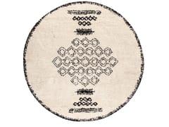 Tappeto rotondo in polipropilene a motivi geometriciSORA | Tappeto rotondo - VIVARAISE